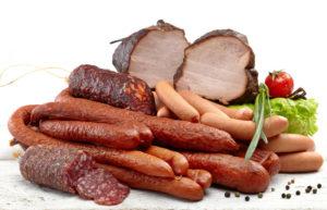 Мясные и колбасные изделия